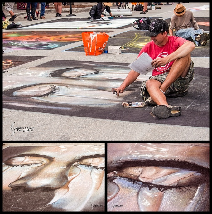 Lake Worth Street Painting:  February 21, 2015 2591