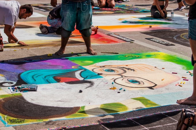 Lake Worth Street Painting:  February 21, 2015 2549