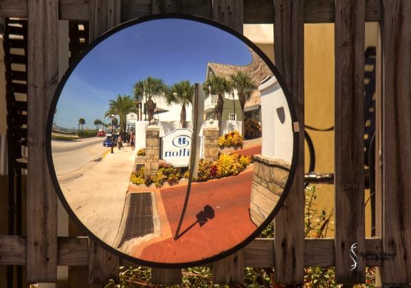 Topic: Sidewalk A side walk in St Augustine, Florida