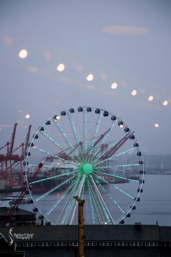 Ferris Wheel from Pike Place Market.