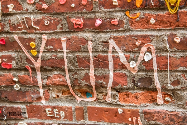 The Gum Wall at Pike Place Market.