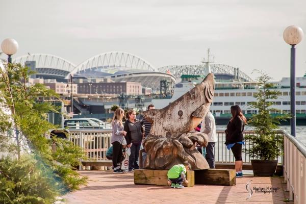 Seattle Ferris Wheel area