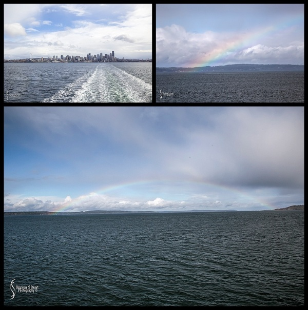 Seattle City Skyline from the ferry