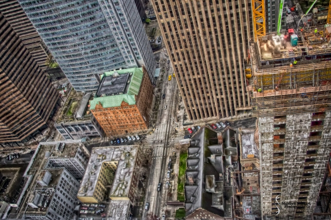 52 Stories down - done in HDR