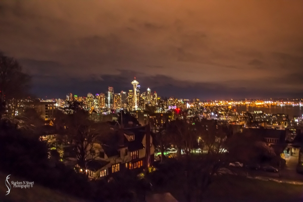 The Seattle Skyline from the Freemont District area