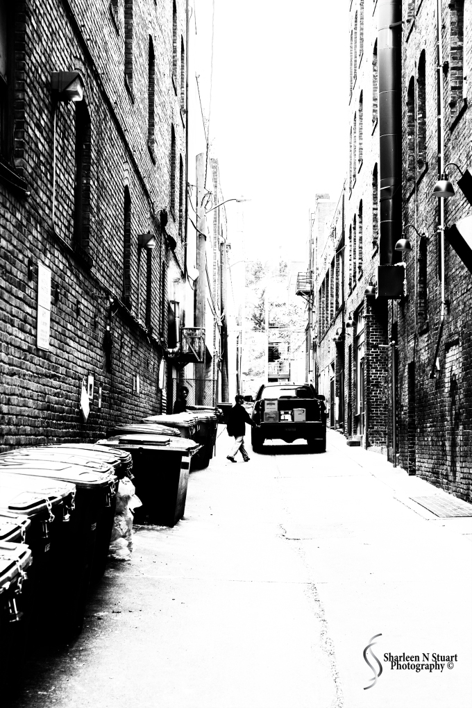 An alleyway in Chinatown