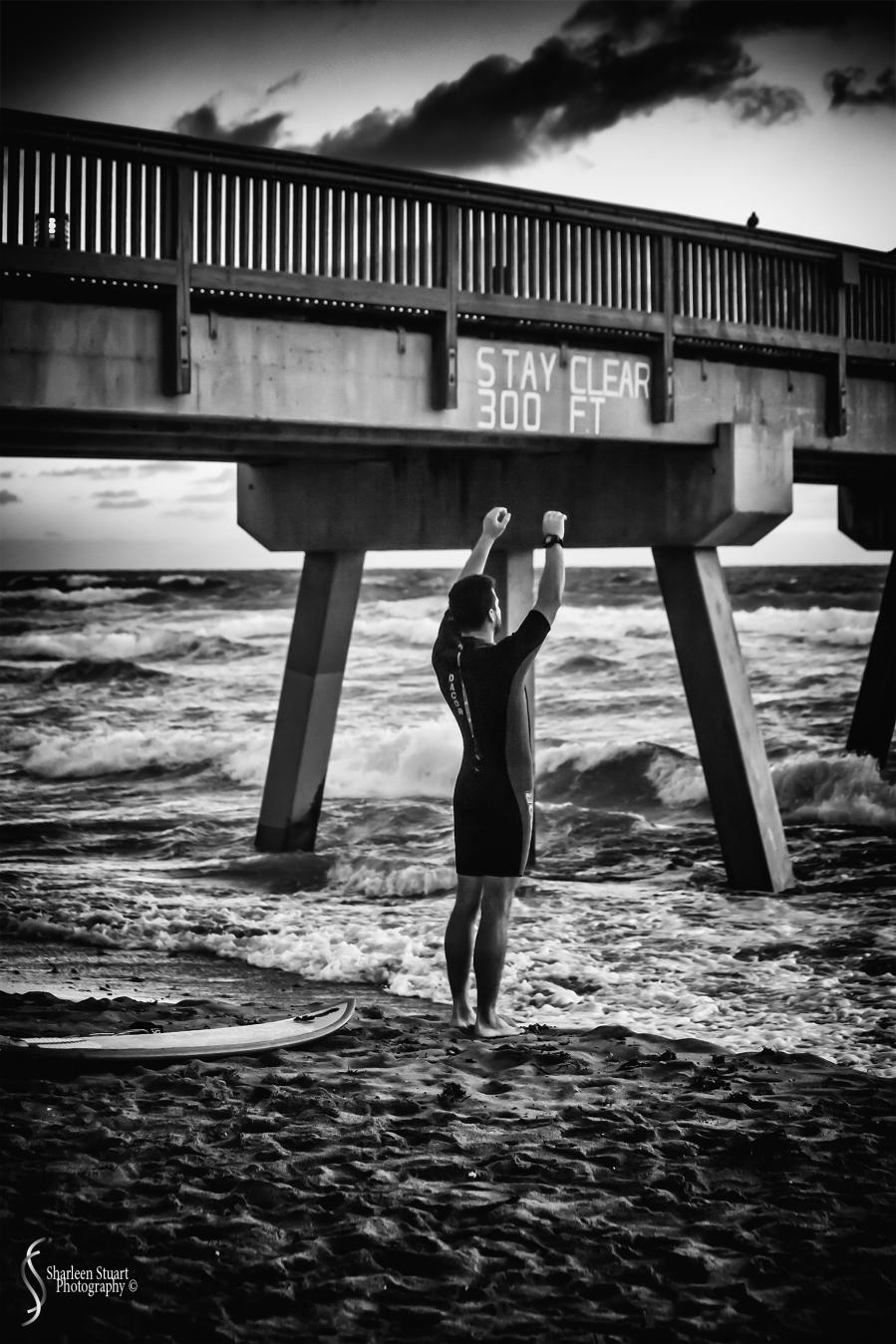 Sunrise at Deerfield Beach: January 13, 2017: 6155