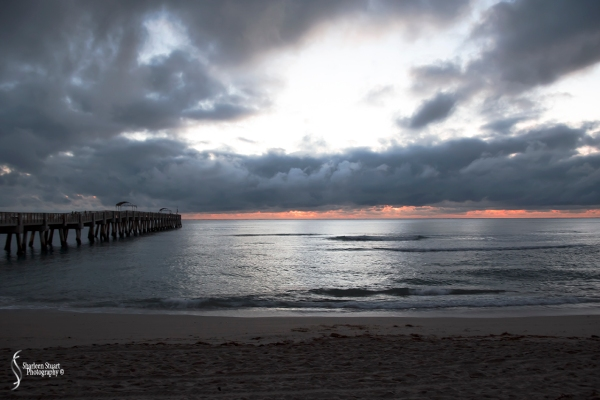 Lake Worth Pier/Sunrise: November 25, 2017: 7485