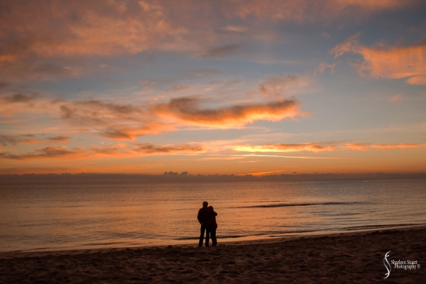 Sunrise at Deerfield Beach: December 25, 2017: 8287