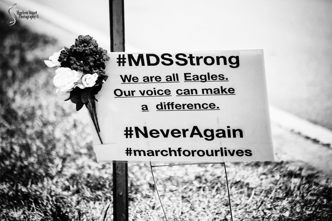 MSD High School Memorial:  March 9, 2018: 2107