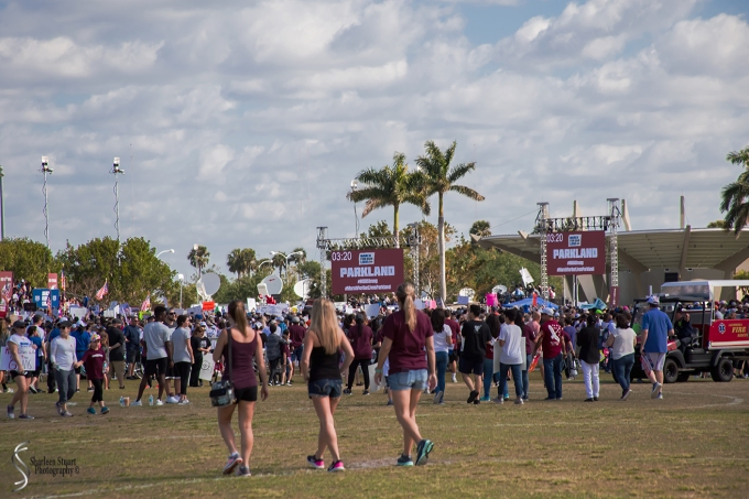 MSD High School Walk for our Lives:  March 24, 2018: 1202