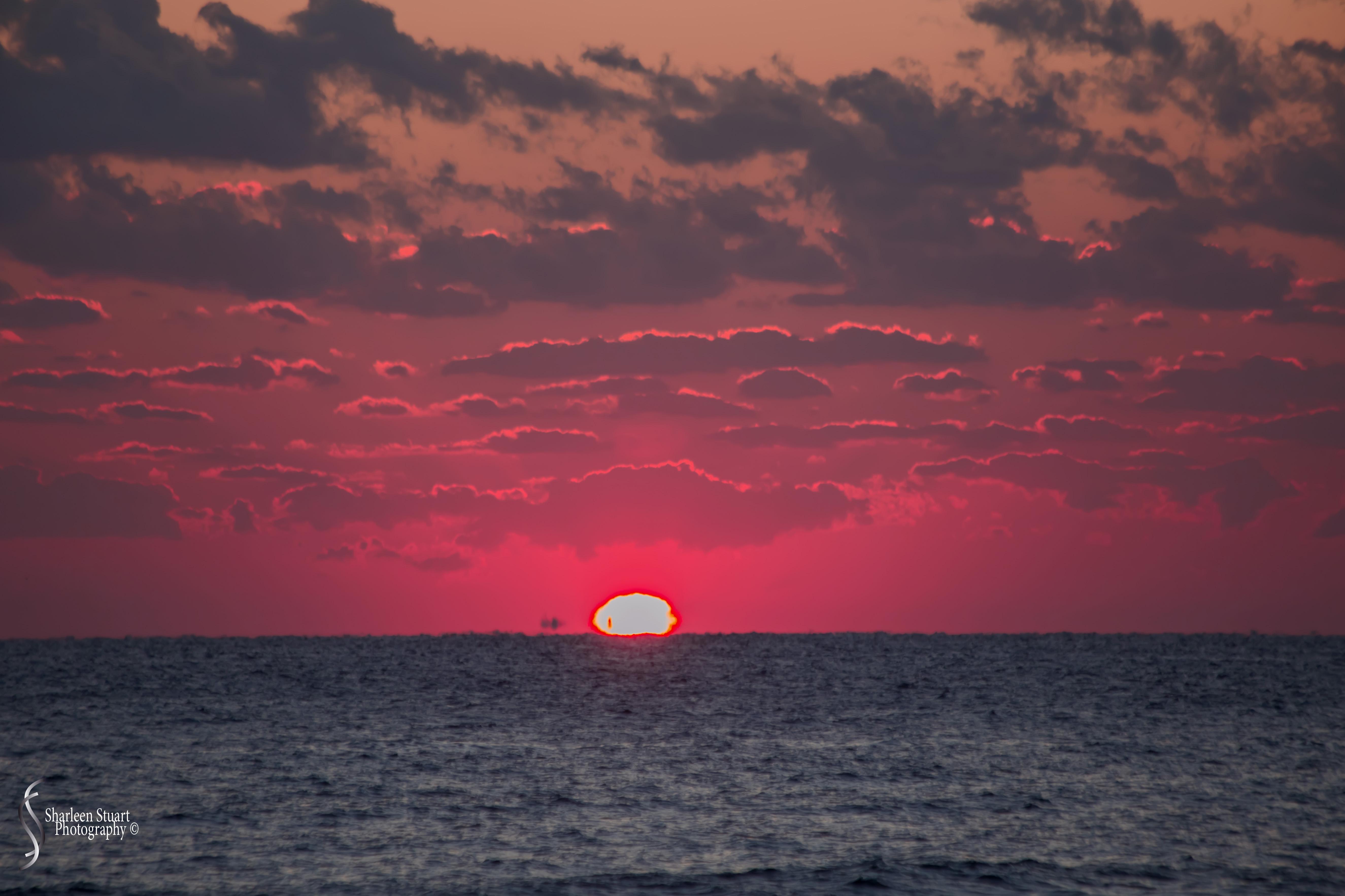 Sunrise at Deerfield Beach: March 23, 2018: