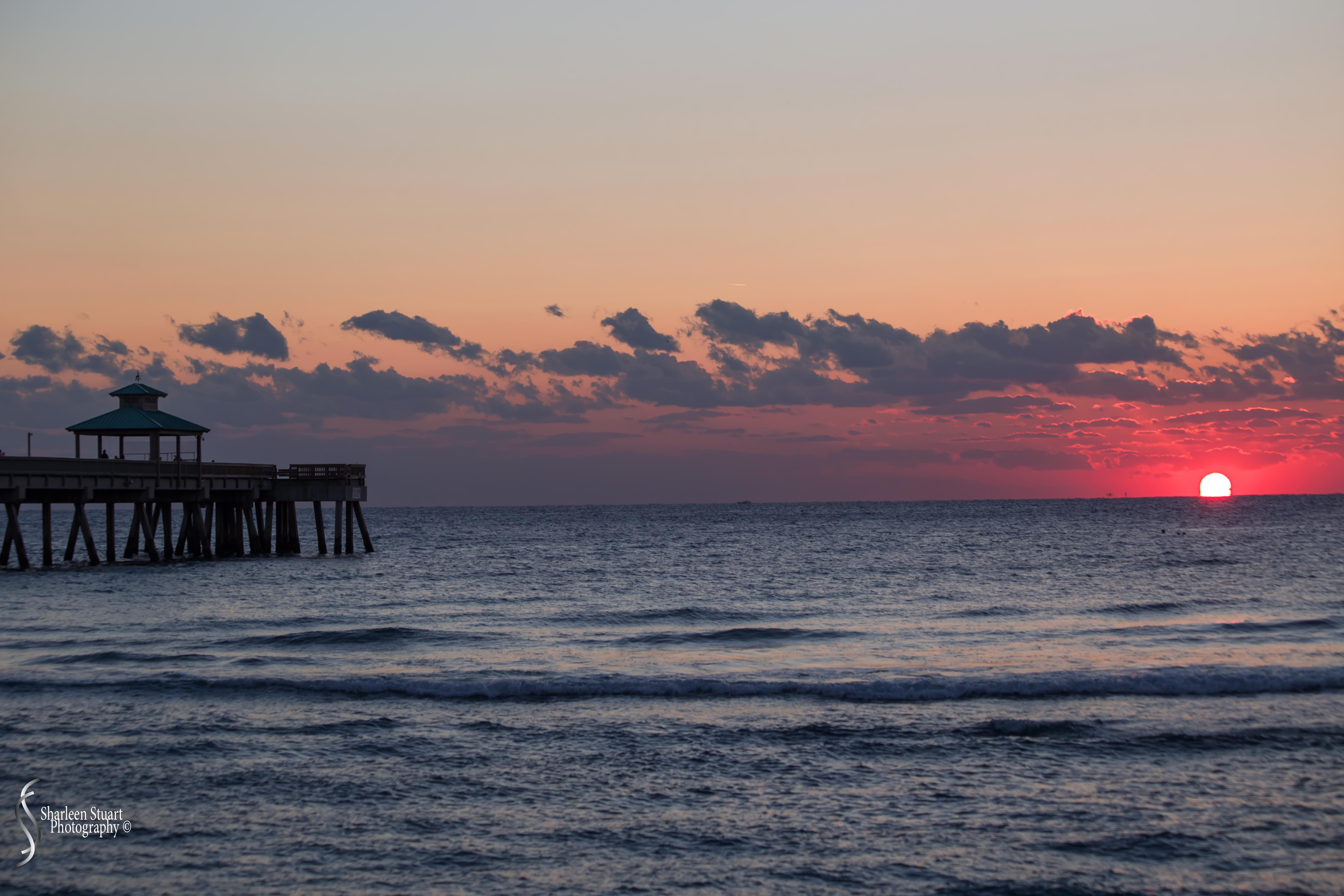 Sunrise at Deerfield Beach: March 23, 2018: 2515