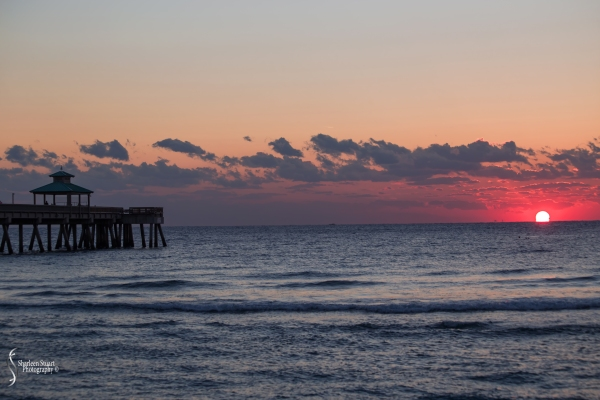 Sunrise at Deerfield Beach: March 23, 2018: 2515