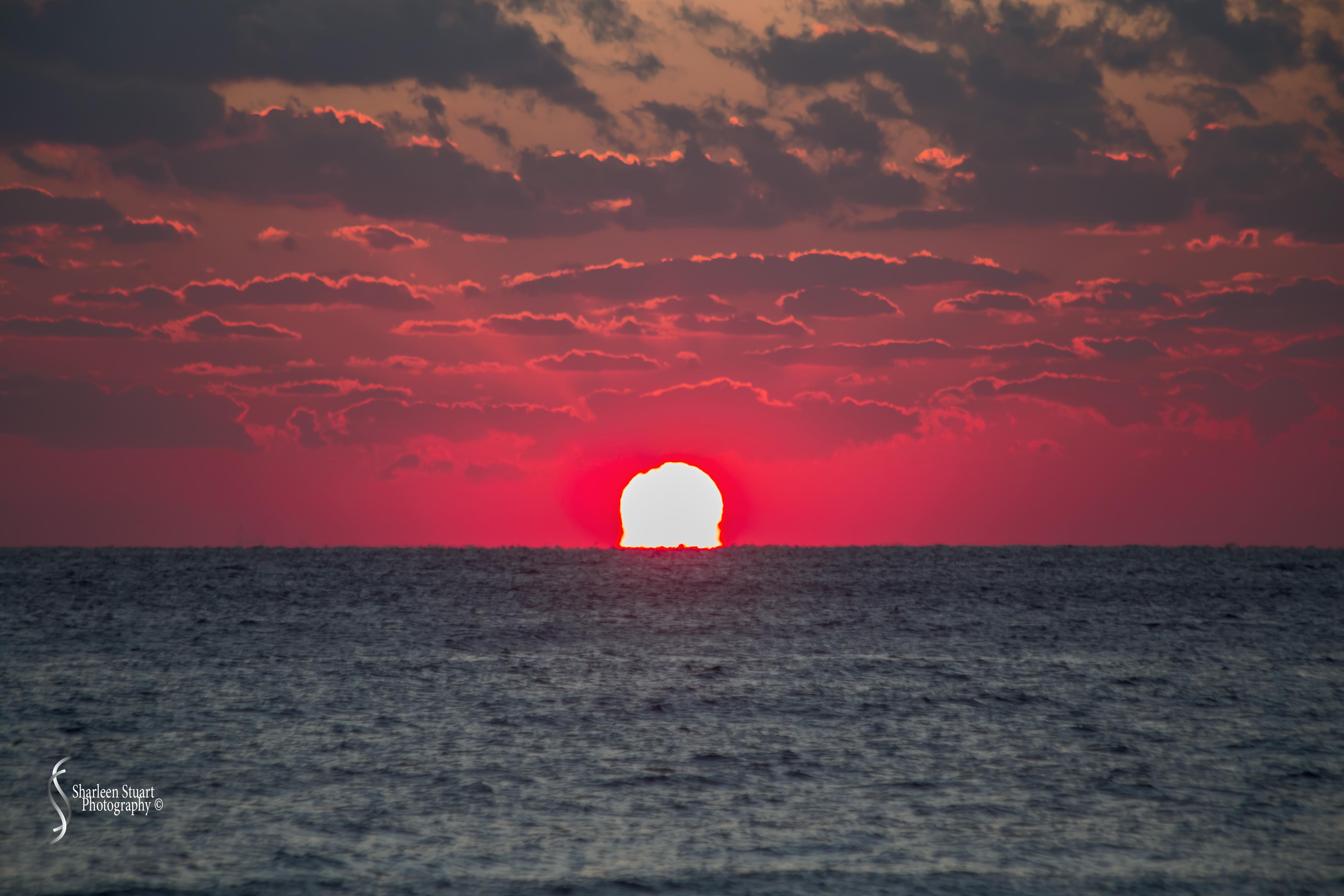 Sunrise at Deerfield Beach: March 23, 2018: 2518