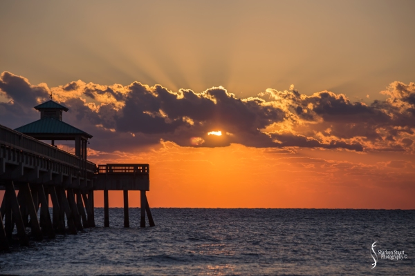Sunrise at Deerfield Beach: March 23, 2018:  2580