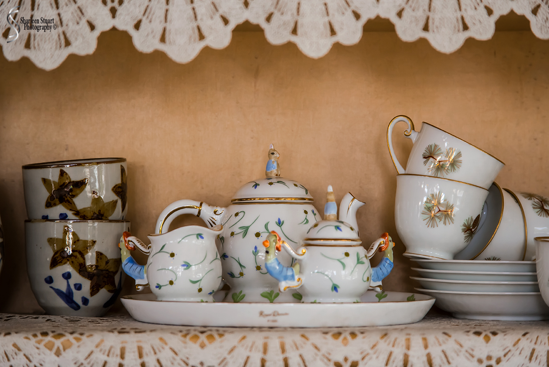 Serenity Tea House:  June 5, 2018: 5234
